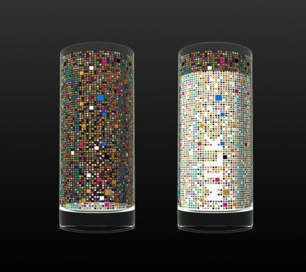 The Cipher Drinking Glasses