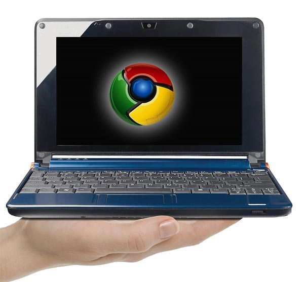 Google Branded Chrome OS Netbook