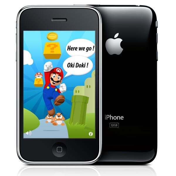 Apple Approves Unofficial Super Mario iPhone App