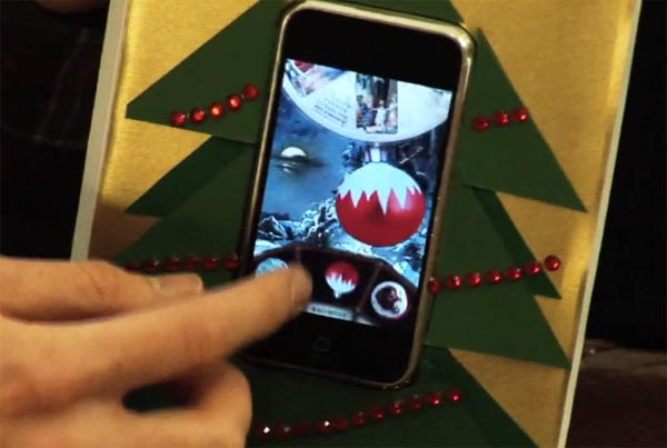 Make An iPhone Christmas Card Using A Real iPhone