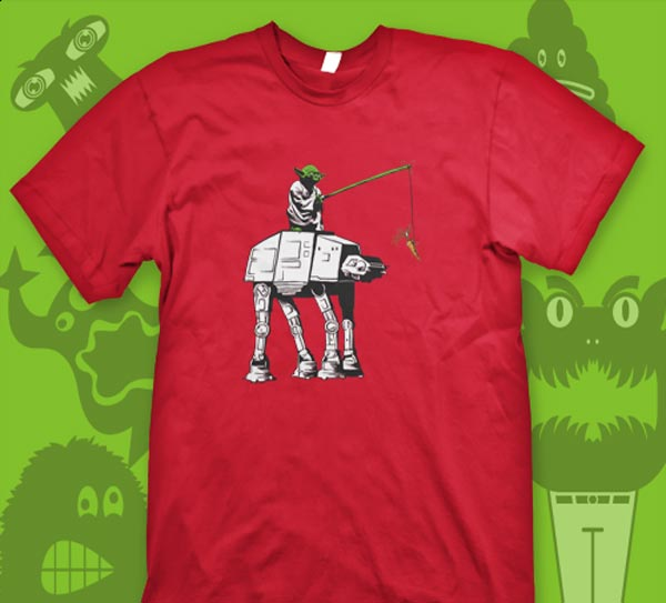 Leading The AT-AT T-Shirt