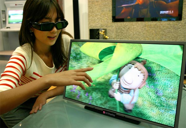 LG Launches Full HD 3D LCD Monitor
