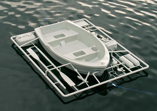Life Sized Model Boat Kit