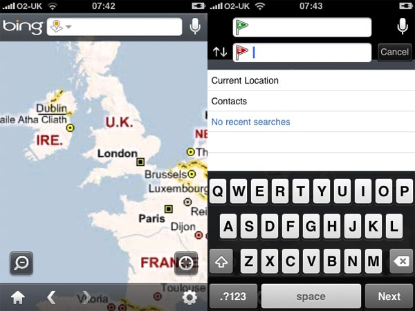Microsoft Launches Bing iPhone App