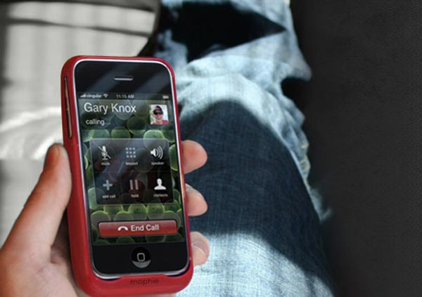 Mophie Juice Pack Air Goes Red For Chrismtas