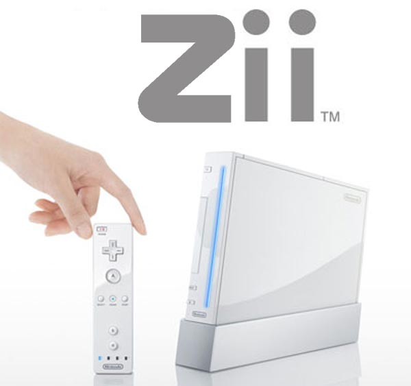 Nintendo Files 'Zii' Trademark