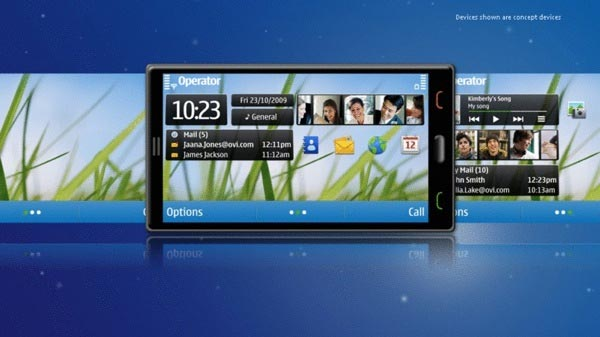 Nokia Shows Off New Symbian UI