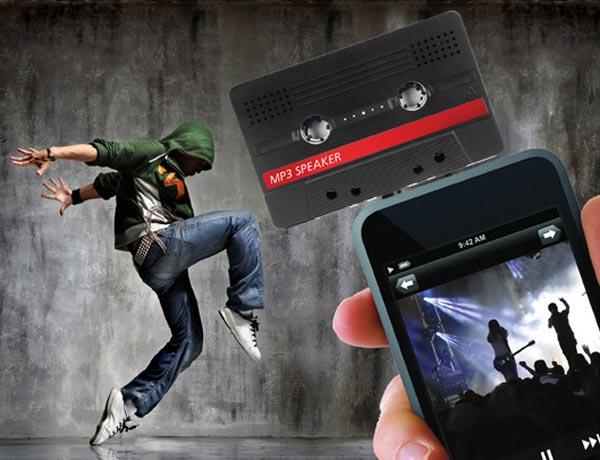Retro Cassette iPod Speaker