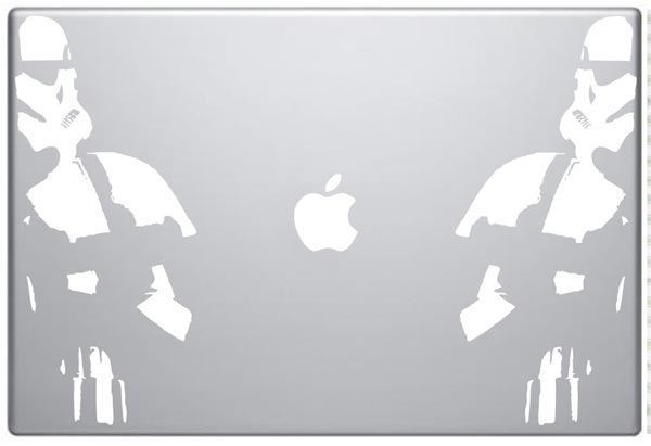 Star Wars MacBook Decals