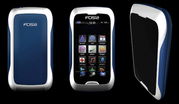 Synaptics Fuse Mobile Phone Concept