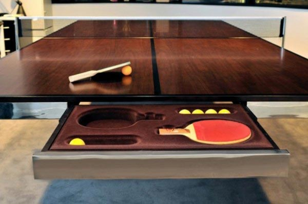 The Table and Tennis