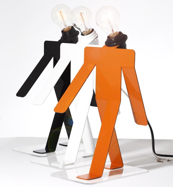 The Moonwalk Lamp
