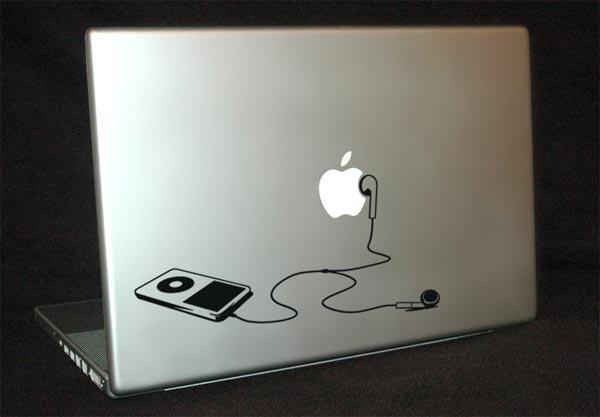 Vinyl iPod MacBook Decal