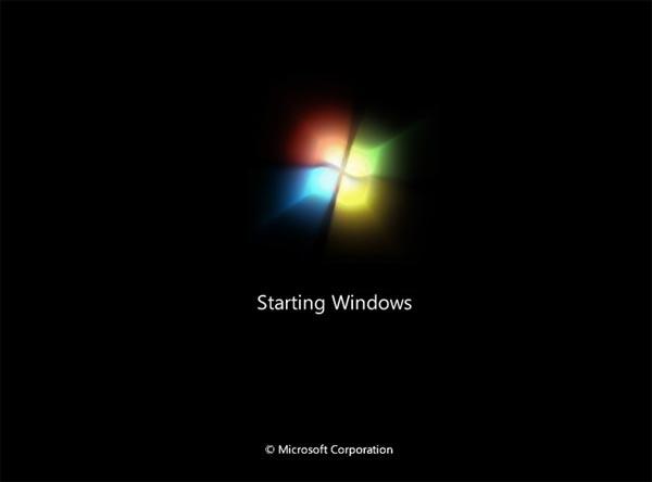 how to delete black window message opn windows 10