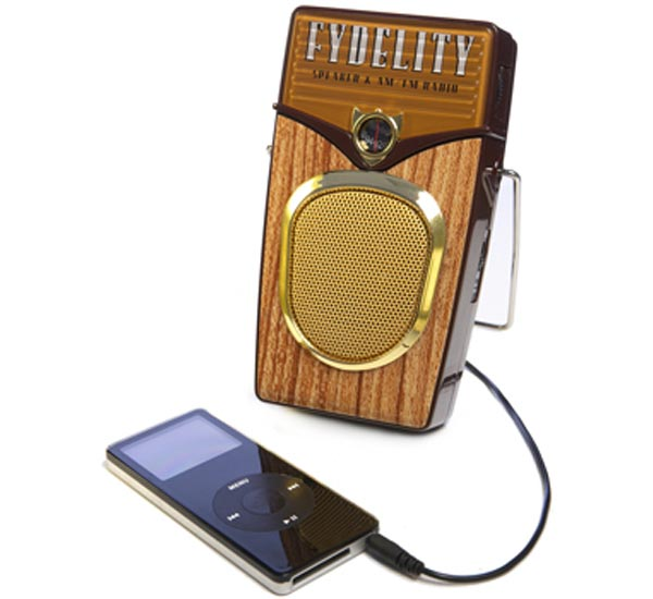 Woody MP3 Speaker And Radio