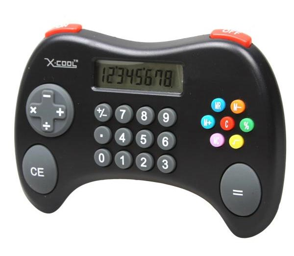 X-Cool Calculator Looks Like A Games Console Controller