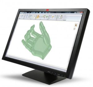 3M's new 22-inch LCD Multi-Touch Screen