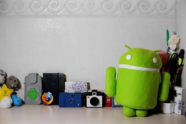 Android Robot Plush Bag