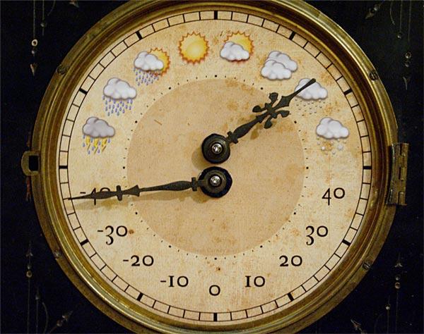 Arduino Weather Clock