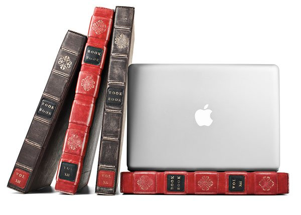 The BookBook Hardback Leather MacBook Case
