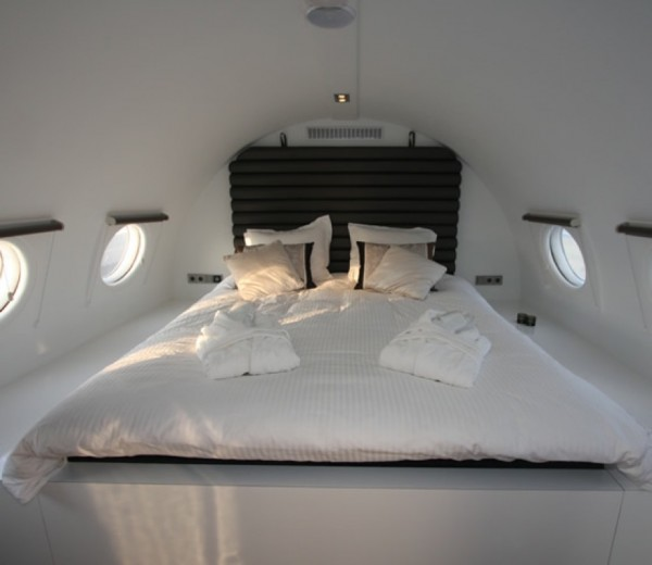 Cold War Airplane-Hotel Room