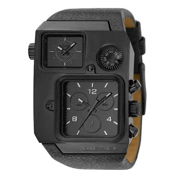 Diesel DZ1318 Bad Ass Gunmetal Compass Watch