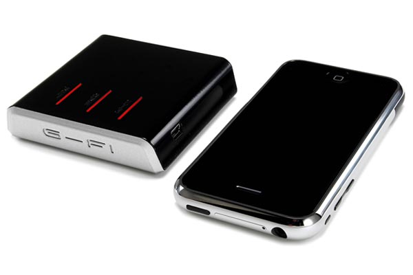 G-FI Mobile Network GPS Router Adds GPS To Your iPod Touch