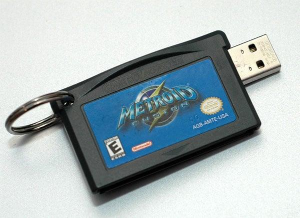 Game Boy Advance Cartridge USB Drives