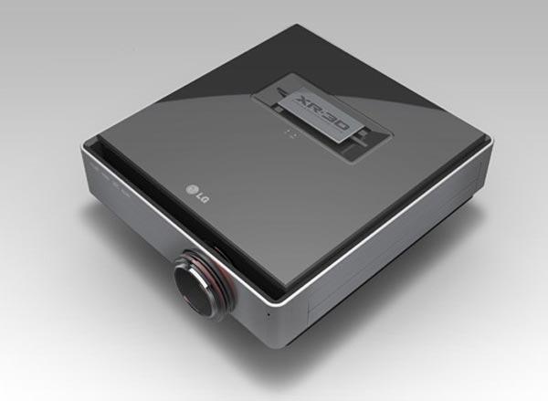 LG CF3D 1080p Full HD 3D Projector