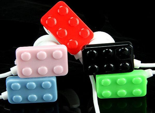 Lego Brick Headphones
