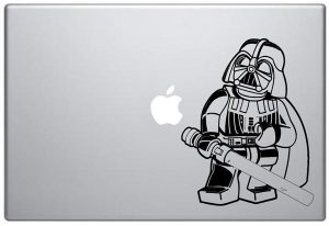 Lego Darth Vader MacBook Decal
