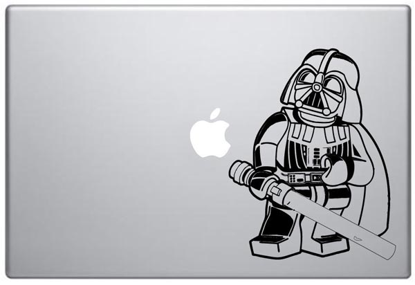 Lego Darth Vader MacBook Decal