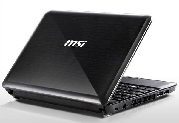 MSI Wind U135 Pine Trail Netbook Now Available