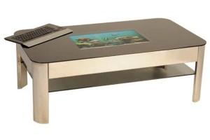 Retro Tech Platinum PC Coffee Table
