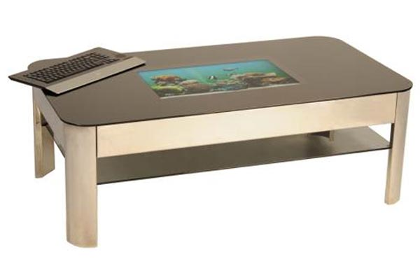 Retro Tech Platinum PC Coffee Table