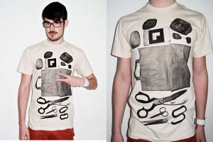 Rock, Paper, Scissors Augmented Reality T-Shirt