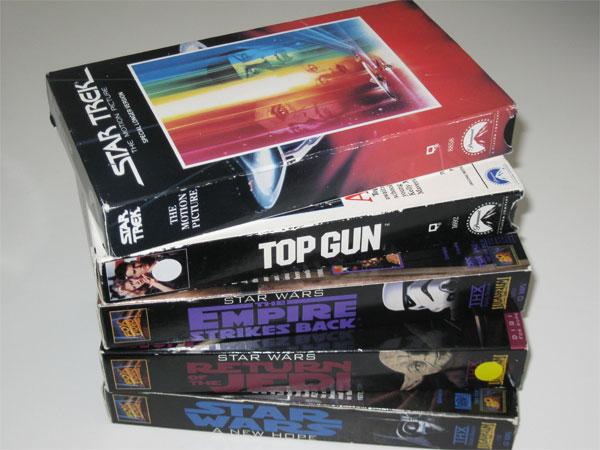 VHS Tape External Hard Drives