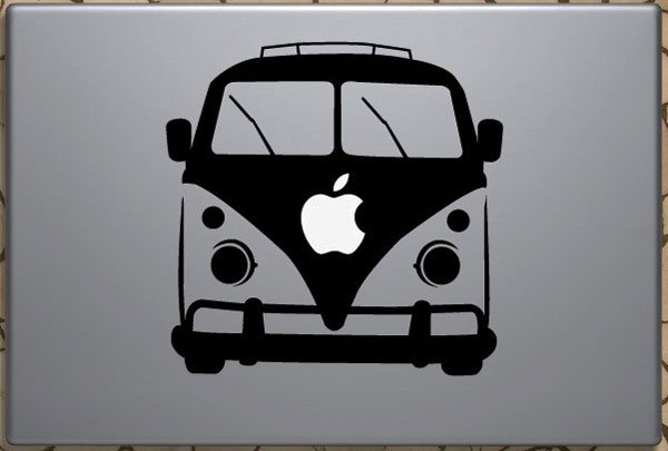 VW Camper Van MacBook Decal