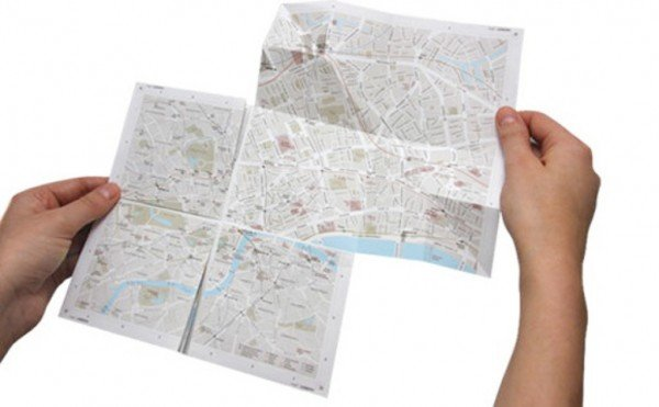Zoom-In With This Paper Map