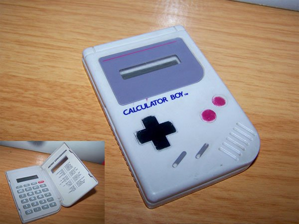 Calculator Boy - The Calculator Game Boy Mod