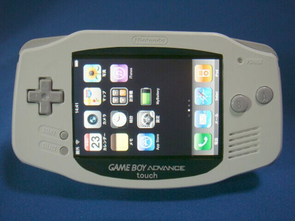 Game Boy Advance iPhone Case Mod