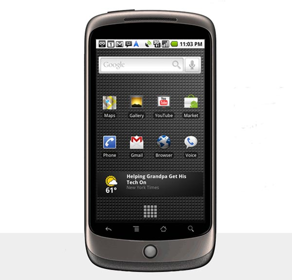 Google Nexus One Gets Official