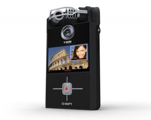 ION Twin Video Double Lens Pocket Video Camera