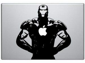 Iron Man MacBook Decal