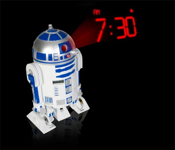 Win An R2-D2 Projection Alarm Clock - Geeky Gadgets Giveaway