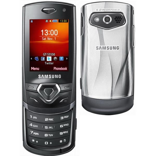 Samsung Shark S5350, S5550 And S3550 Mobile Phones