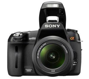 Sony Alpha 450 DSLR Camera
