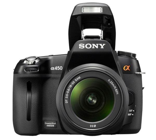 Sony Alpha 450 DSLR Camera