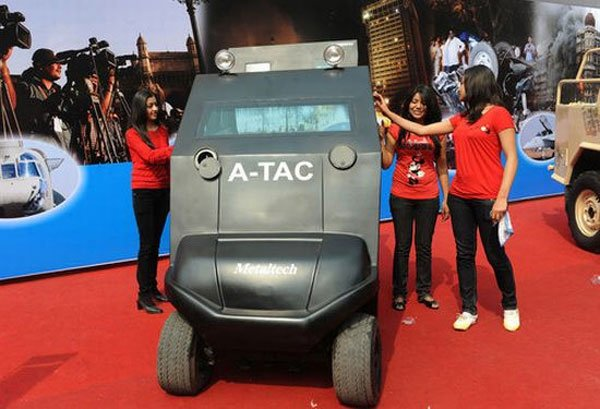 A-Tac The Anti Terrorist Golf Cart