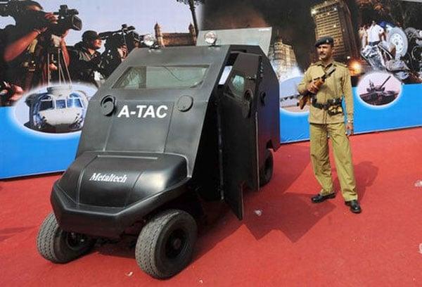 A-Tac The Anti Terrorist Golf Cart